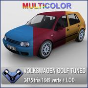 Volkswagen Golf IV Tuned (Multicolor) 3d model