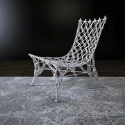 打结的椅子 3d model