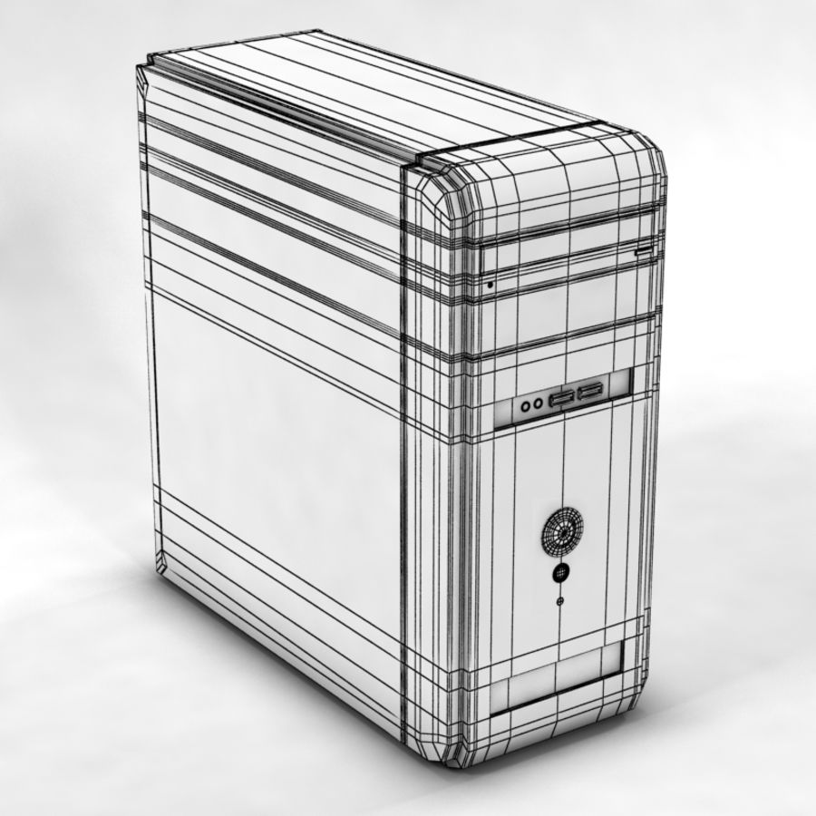 Computer royalty-free 3d model - Preview no. 6