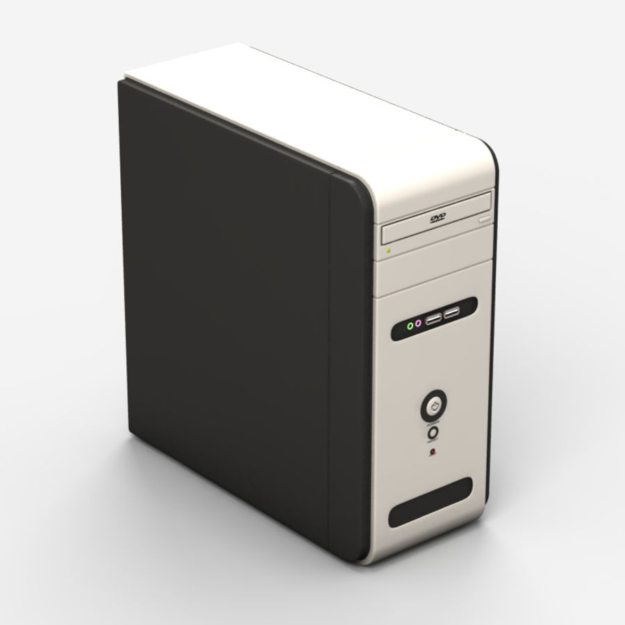 Computer royalty-free 3d model - Preview no. 1