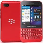 黑莓Q5红色 3d model