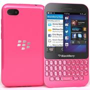 BlackBerry Q5 Pink 3d model
