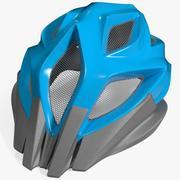 Велосипедный шлем 4 3d model