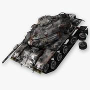 Wrak czołgu M60 3d model