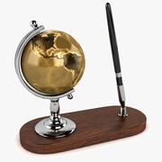 地球仪笔套装 3d model
