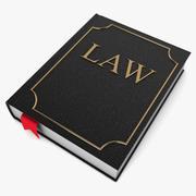 Книга юриста 3d model