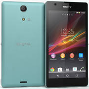 Sony Xperia ZR Teal 3d model