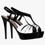 Velvet Girl Shoes 3d model