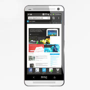 HTC One 3d model
