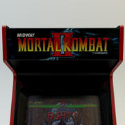 Mortal Kombat 2 Arcade-Maschine 3d model