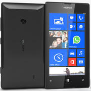 Nokia Lumia 520 Preto 3d model