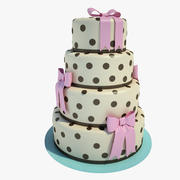 Wedding Cake 01 3d model