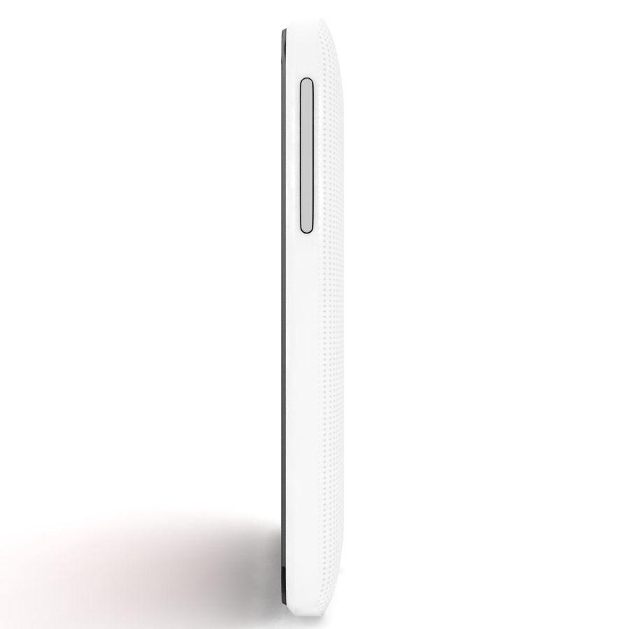 HTC Desire 200 White royalty-free 3d model - Preview no. 6