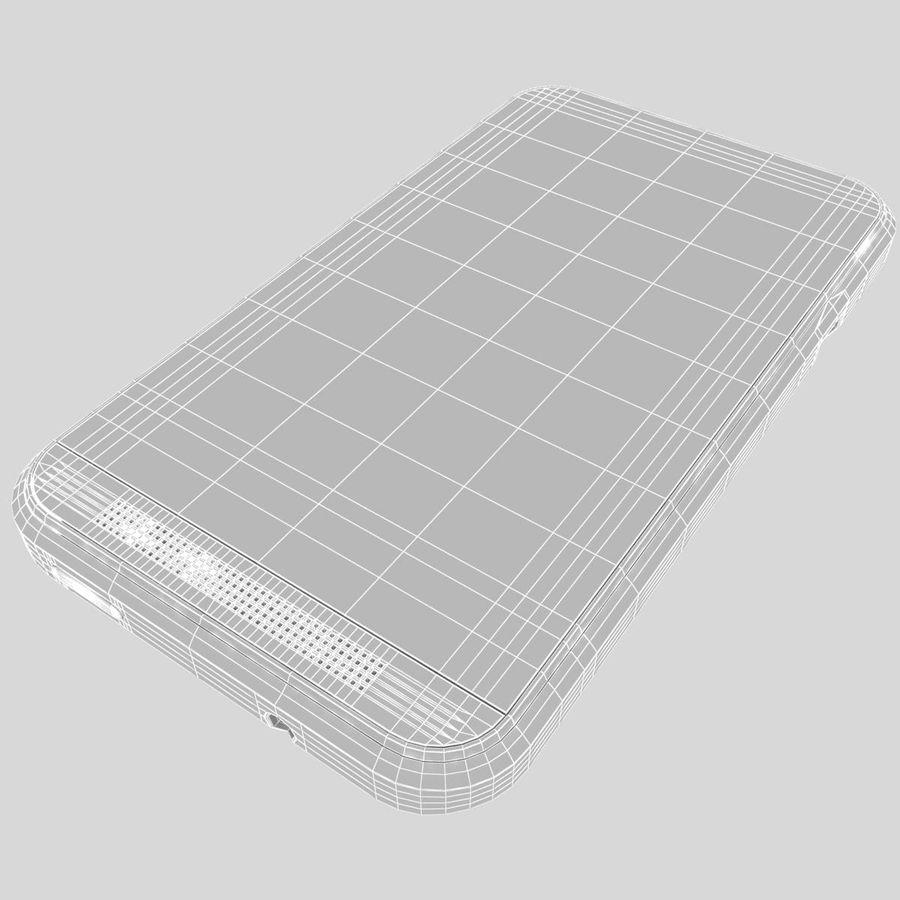 HTC Desire 200 White royalty-free 3d model - Preview no. 34