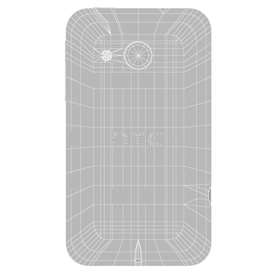 HTC Desire 200 White royalty-free 3d model - Preview no. 26