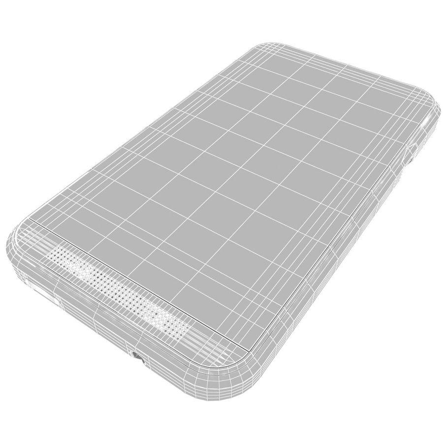 HTC Desire 200 White royalty-free 3d model - Preview no. 21