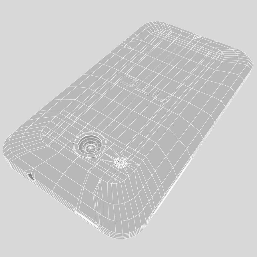 HTC Desire 200 White royalty-free 3d model - Preview no. 36