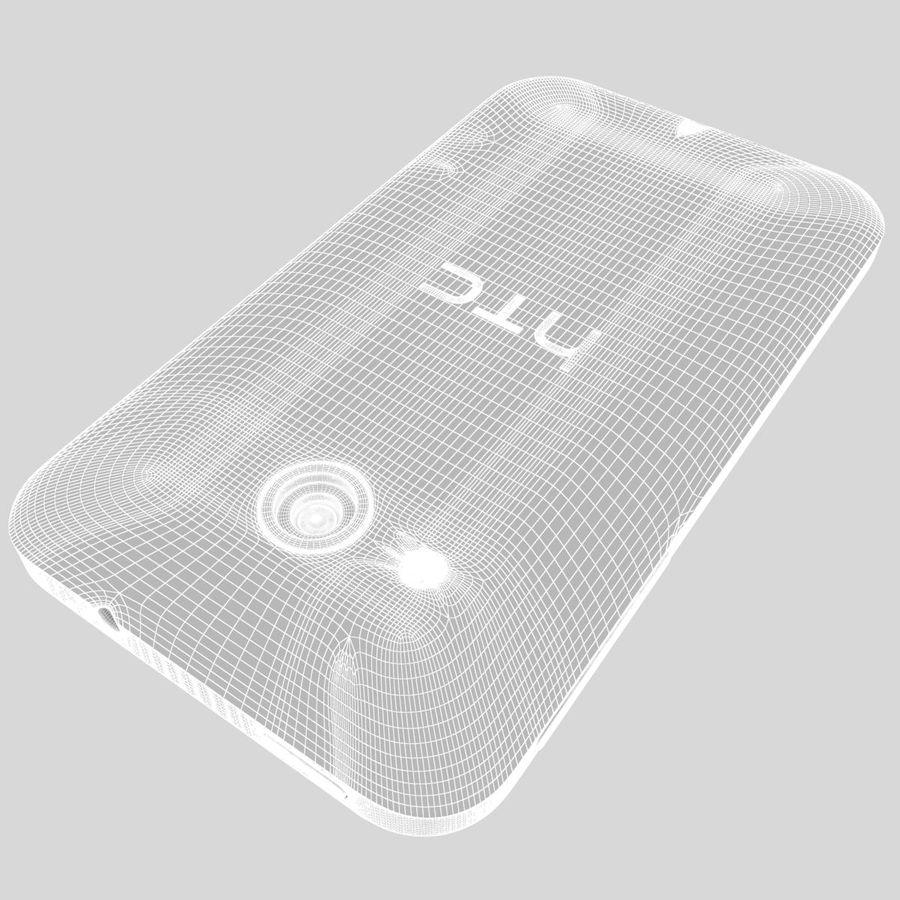 HTC Desire 200 White royalty-free 3d model - Preview no. 38