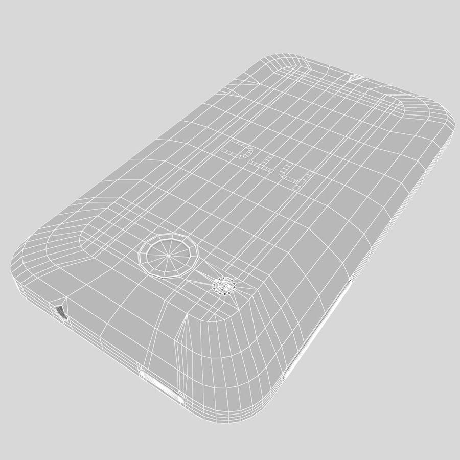 HTC Desire 200 White royalty-free 3d model - Preview no. 33