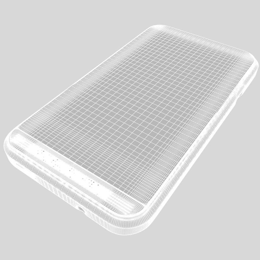 HTC Desire 200 White royalty-free 3d model - Preview no. 24