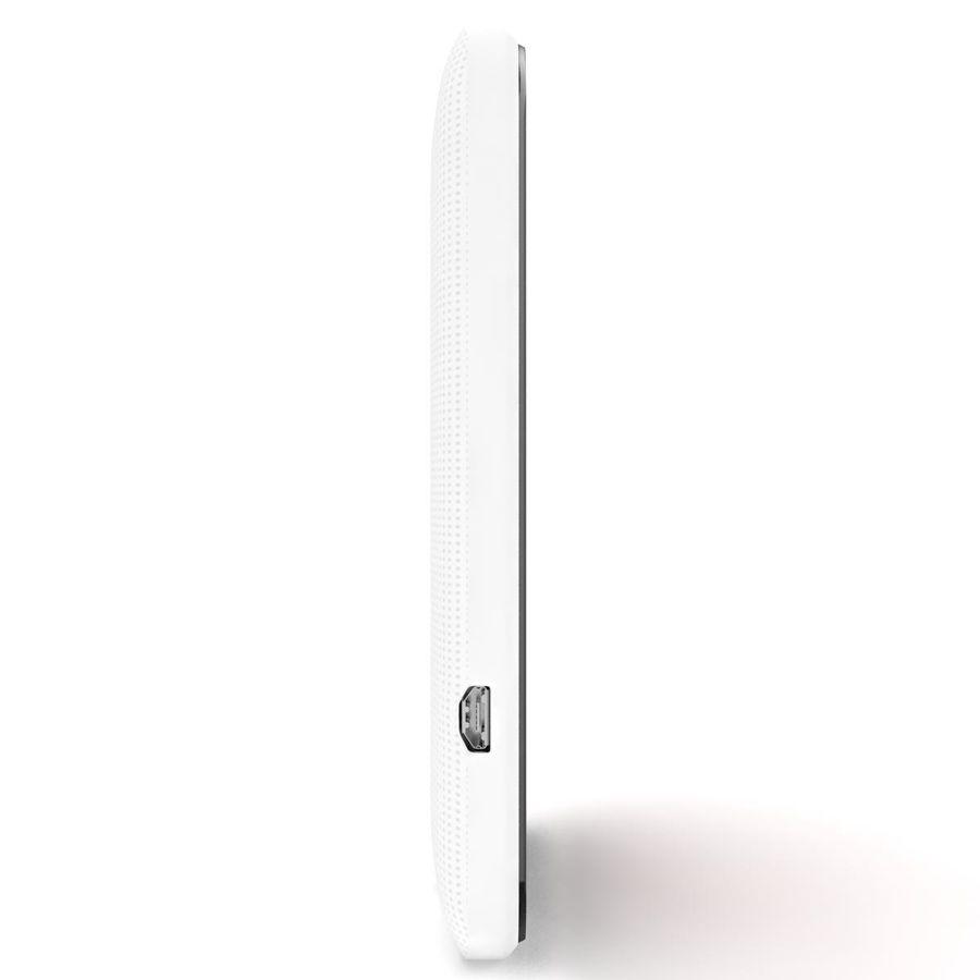 HTC Desire 200 White royalty-free 3d model - Preview no. 7