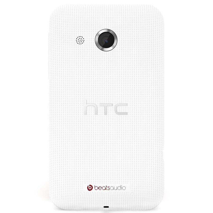 HTC Desire 200 White royalty-free 3d model - Preview no. 5