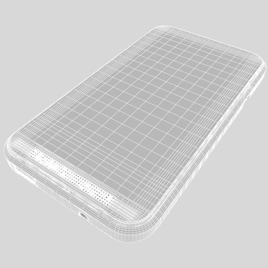 HTC Desire 200 White royalty-free 3d model - Preview no. 30