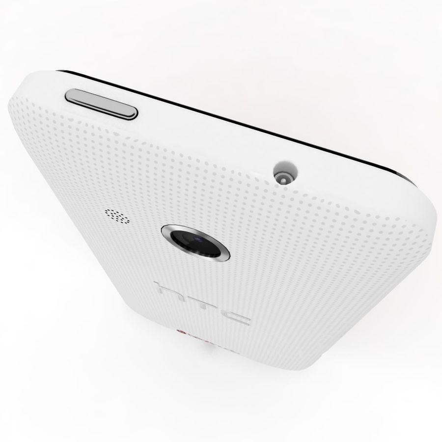 HTC Desire 200 White royalty-free 3d model - Preview no. 9