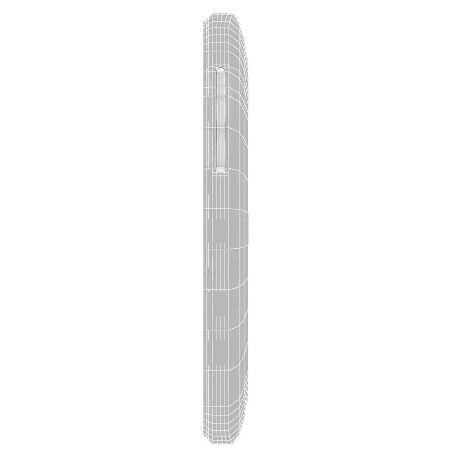 HTC Desire 200 White royalty-free 3d model - Preview no. 27