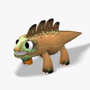 Cartoon Lizard 3d model