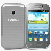Samsung Galaxy Young S6310 Argent 3d model