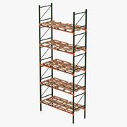 Warehouse Racks 3 3d model