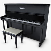 Pianoforte 3d model