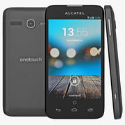 Alcatel One Touch Snap LTE Black 3d model