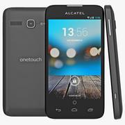 Alcatel One Touch Snap LTE Czarny 3d model