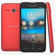 Alcatel One Touch Snap LTE Red 3d model