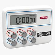 Digital Timer and Clock CDN TM8 3d model