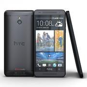 HTC One mini Stealth Preto 3d model