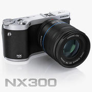 Samsung NX300 SMART Camera 3d model