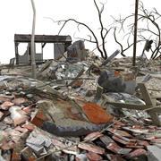 Escombros Escombros escena completa modelo 3d