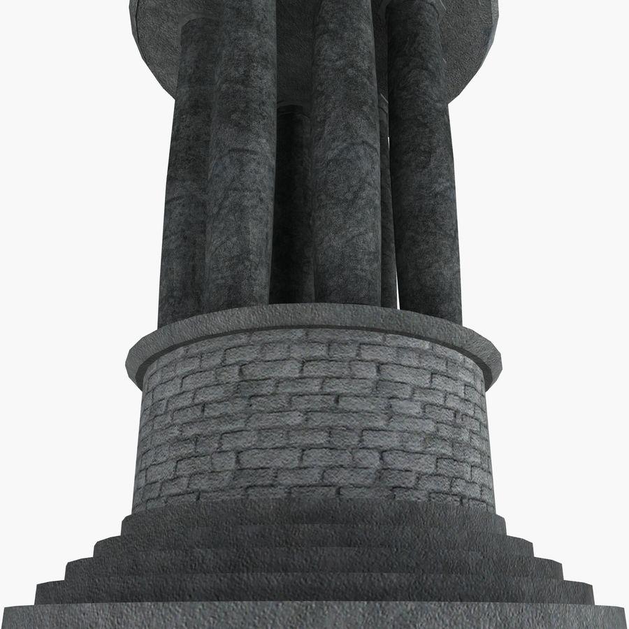 クロックタワー royalty-free 3d model - Preview no. 13