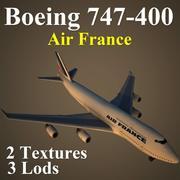 B744 AFR 3d model