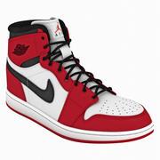 Ayakkabı Air Jordans 1 3d model