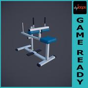 Fitnessstudio Calf Raise 3d model