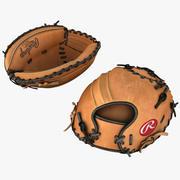 Gant de Baseball Catchers 3d model