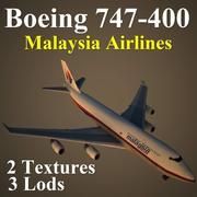 B744 MAS 3d model