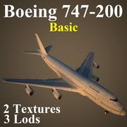 B742基本 3d model