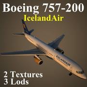 B752 ICE 3d model