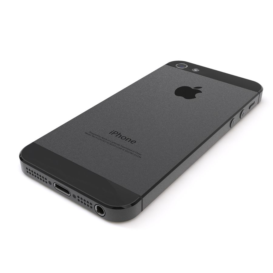 Apple iPhone 5 royalty-free 3d model - Preview no. 5