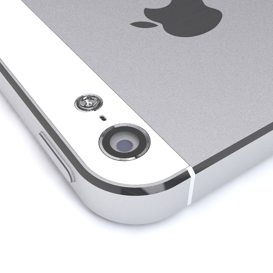 Apple iPhone 5 royalty-free 3d model - Preview no. 8